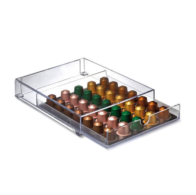 Portacapsule a vassoio con cassetto tra i più venduti su Amazon